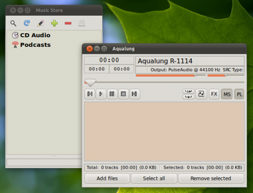 Aqualung is likely to remain Lubuntu default