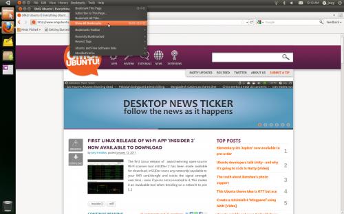 Firefox 4 with Ubuntu 11.04 AppMenu support