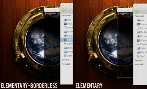 elementary borderless gtk theme for ubuntu