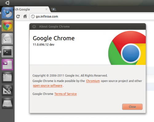 New Google Chrome logo lands in Linux