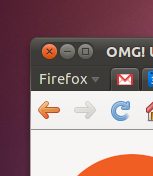 Firefox 4's new menu button