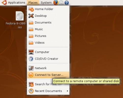 "Places Menu in the ""classic"" Ubuntu desktop"