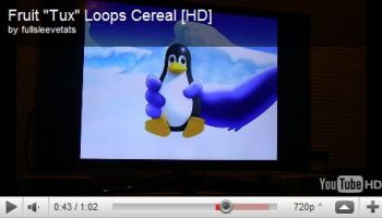 tux in fruity loops commercial