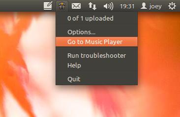 google Music Manager tray icon in Ubuntu 11.10