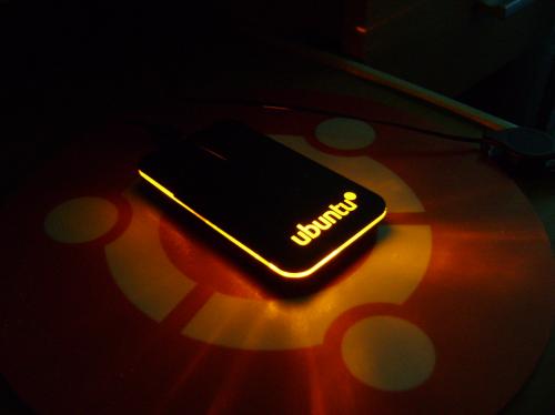 Ubuntu mouse by Shannon Black