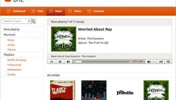 music streaming in Ubuntu One