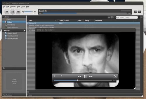 nightingale video playback