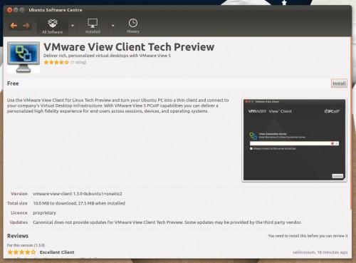 VMWare View comes to Ubuntu