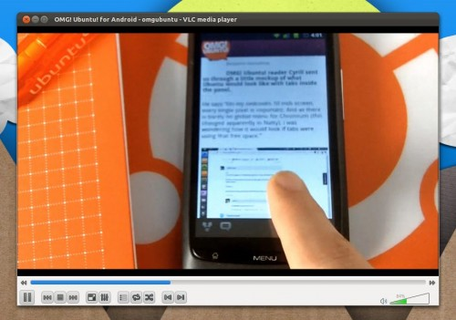Youtube video via VLC in Linux