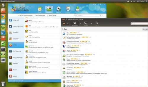 Linux Software Centre's