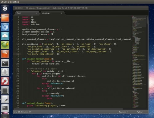 Sublime Text 2 Beta on Linux