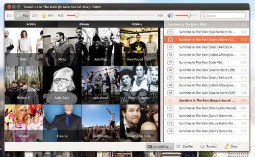 artist view in musique 1.1