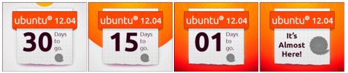 Ubuntu 12.04 Countdown Banner