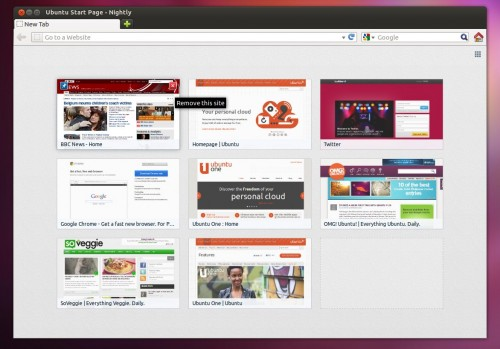 Firefox 13 with Speed Dialling