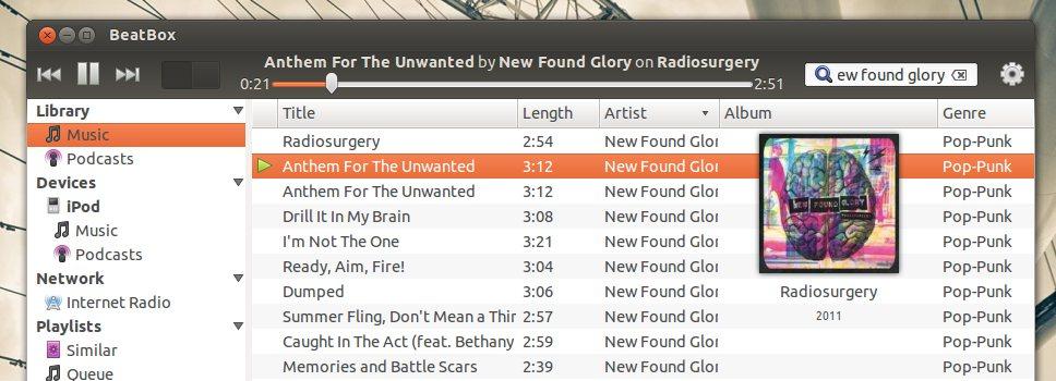 Beatbox 0.4 on Ubuntu 12.04