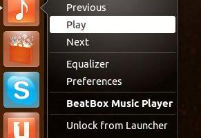 Beatbox quicklist