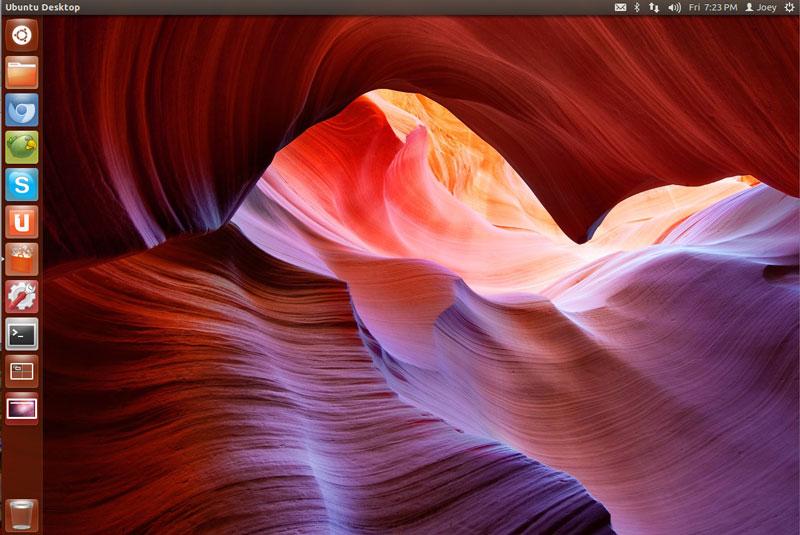 LightDm login Screen with wallpaper