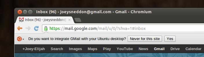 Unity web apps in Ubuntu