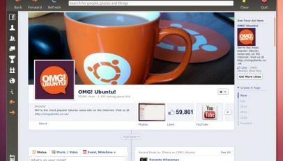 facebook app for Ubuntu