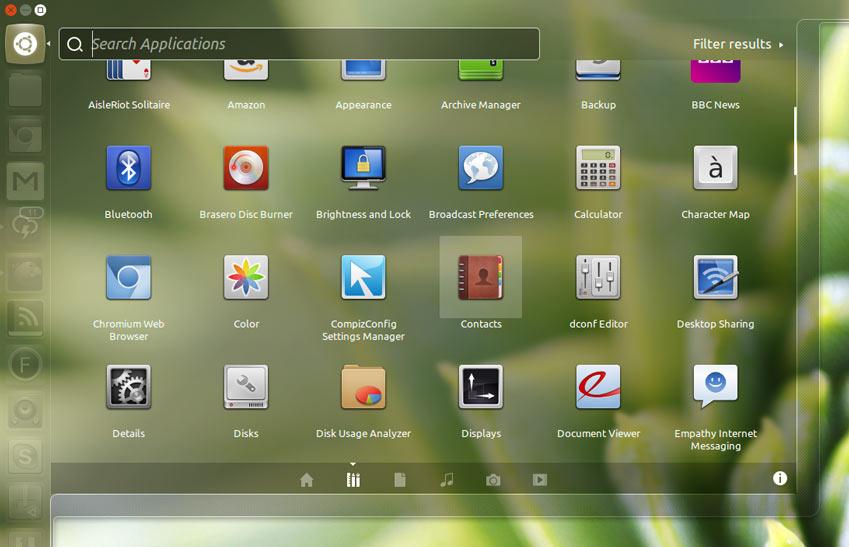 Faenza 1.3 in Ubuntu 12.10