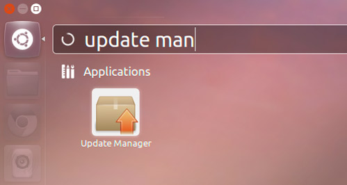 update manager in Ubuntu