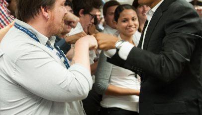 Daniel Ryan and President Barack Obama