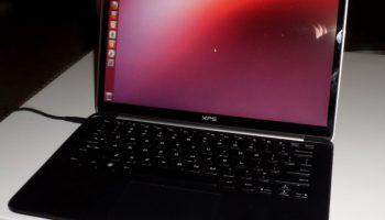 Dell Sputnik (XPS 13) running Ubuntu
