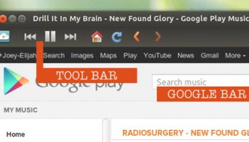 Toolbars in nuvola