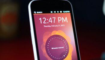 Tweets displayed on Ubuntu Touch