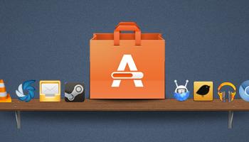 ubuntu apps on a shelf