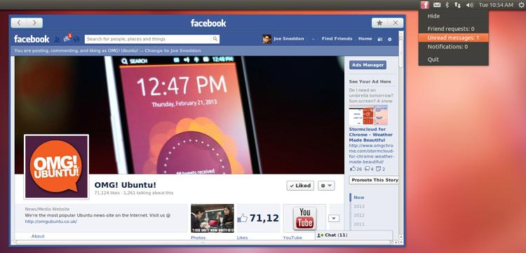 facebook-qt-app