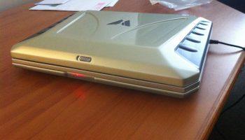 Sol laptop on desk
