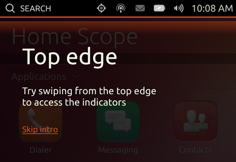 Ubuntu Touch Screen Tour