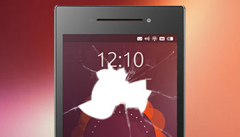 smashed ubuntu phone