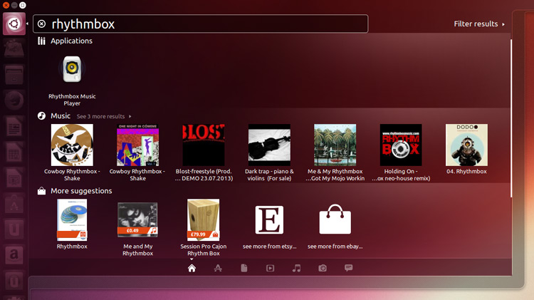 Smart Scopes in Ubuntu 13.10
