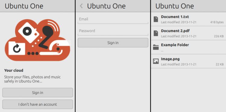 u1files application screens