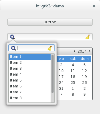 GNOME GTK3 Pop Over Example