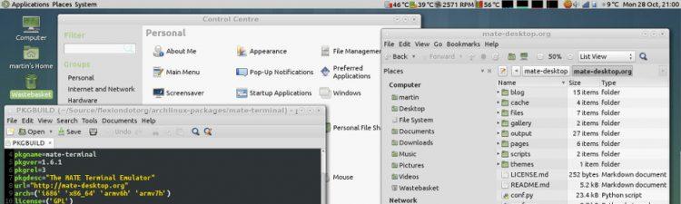 The Mate Desktop