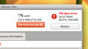 Ubuntu One Mac