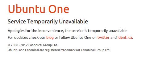Ubuntu One Issue