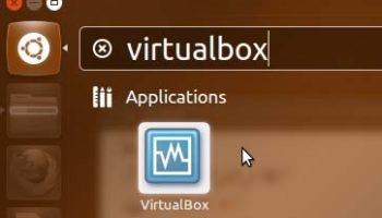 virtualbox in ubuntu unity dash