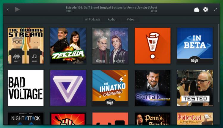 Vocal Podcast App for Linux