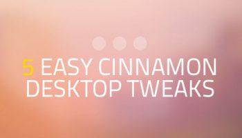 cinnamon desktop tweaks
