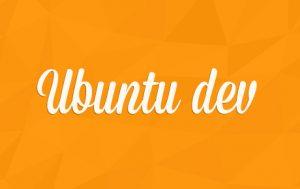 ubuntu dev logo