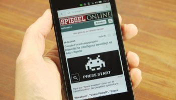 spiegel with ubuntu phone