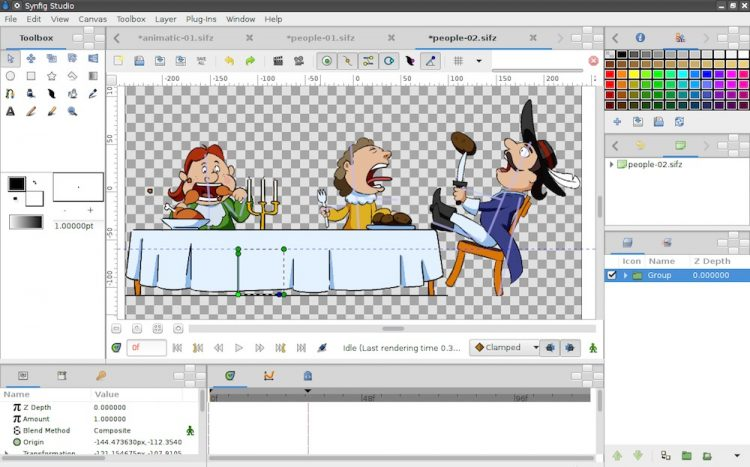 synfig free animations