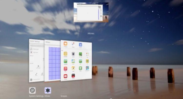 unity 8 3d window switcher