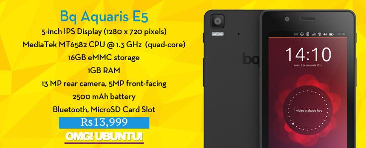 bq e5 india