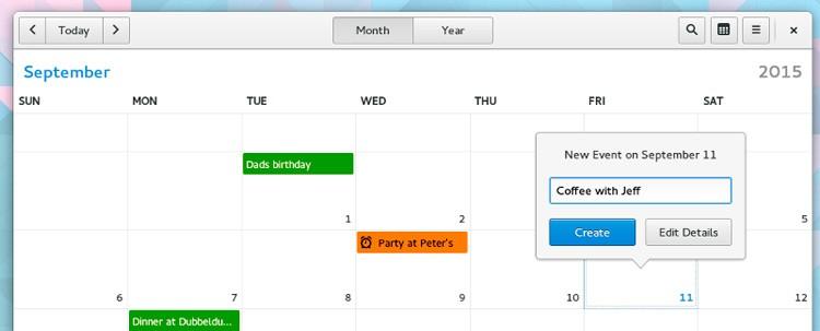 gnome-calendar-app