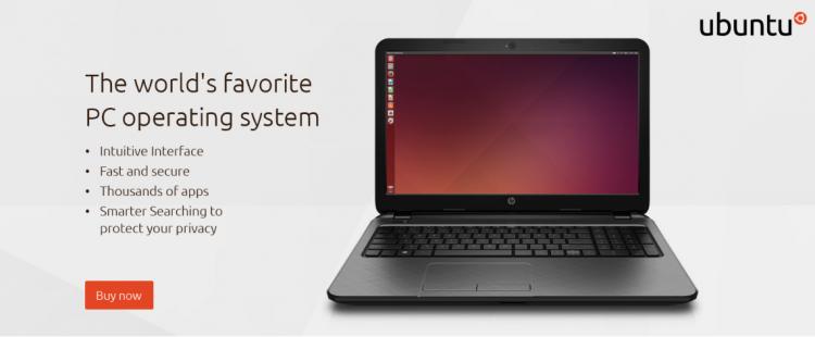 Ubuntu Store hero. Citation needed.